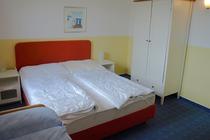 Ferienhaus Rechlin Müritz Schlafzimmer