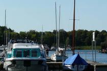 Ferienhaus Rechlin Müritz Hafen