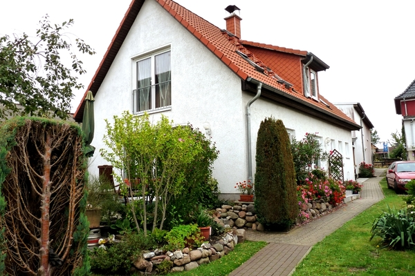 Ferienhaus Ostsee Diedrichshagen Hausansicht