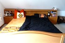 Ferienhaus Ostsee Diedrichshagen Schlafzimmer Doppelbett