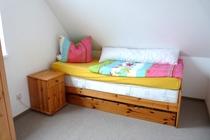 Ferienhaus Ostsee Diedrichshagen Schlafzimmer