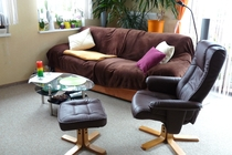 Ferienhaus Ostsee Diedrichshagen Wohnzimmer Couch