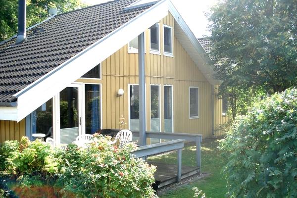 Ferienhaus Mirow Granzow Haus mit Terrasse