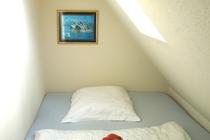 Ferienhaus Dabel Holzendorfer See drittes Schlafzimmer OG