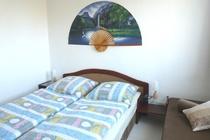 Ferienhaus Dabel Holzendorfer See erstes Schlafzimmer EG