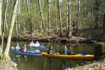 Ferienwohnung Mecklenburgische Seenplatte Dabel Holzendorfer See Kanu fahren
