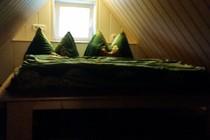 Ferienhaus Berglase Insel Rügen Schlafzimmer