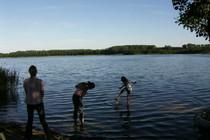 Ferienwohnung Mecklenburgische Seenplatte Dabel Holzendorfer See den See versuchen