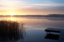 Ferienwohnung Mecklenburgische Seenplatte Dabel Holzendorfer See Idylle am See
