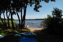 Ferienwohnung Mecklenburgische Seenplatte Dabel Holzendorfer See Badestrand