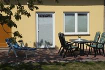 Ferienhaus Dabel Terrasse