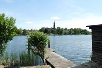 Malchow Kloster und Steg