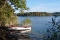 Zislow Pätschsee mit Boot