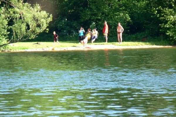 Plauer See baden