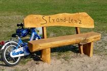 Plauer See Badestrand Lenz Fahrrad