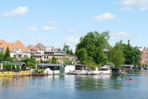 Malchow Drehbrücke und Kanus
