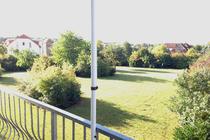 Ferienwohnung Land Fleesensee Göhren Lebbin Blick vom Balkon