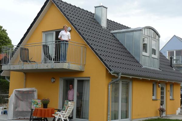 Ferien am Fleesensee  Außenansicht des Hauses