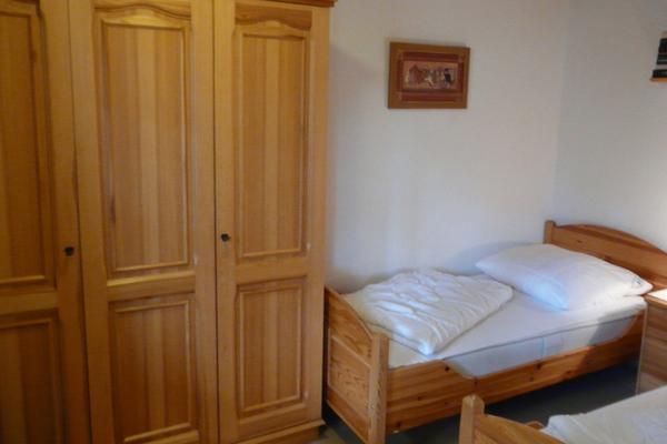 Ferienhaus Silz Fleesensee Schlafzimmer