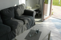 Apartment Carwitz Carwitzer See Wohnbereich