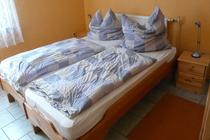 Ferienwohnung Plau am See Schlafzimmer 1