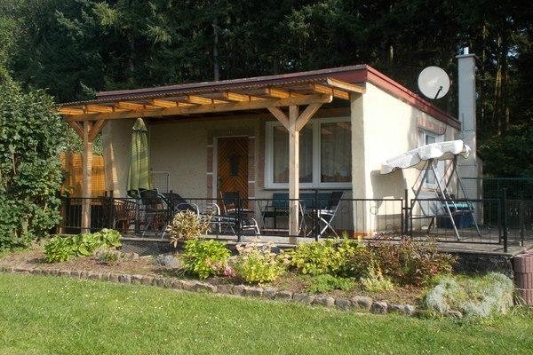 Ferienhaus Wustrow Tollensesee Hausansicht
