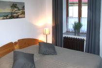 Ferienwohnung Jabel Jabelscher See Schlafzimmer