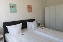 Ferienwohnung Krakow am See zweites Schlafzimmer