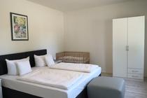 Ferienwohnung Krakow am See Schlafzimmer 1