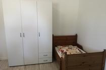 Ferienwohnung Krakow am See Schlafzimmer 2