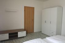 Ferienwohnung Krakow am See Schlafzimmer