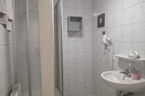 Ferienwohnung Krakow am See Badezimmer