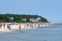 Usedom Strand Badegäste