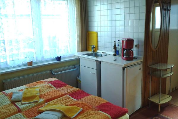 Ostsee Ahlbeck  Fewo Schlafzimmer