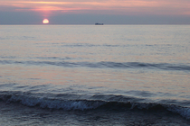 Ostsee Abendsonne