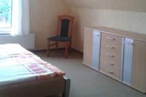 Ferienhaus Pantow Rügen Ostsee Schlafzimmer Doppelbett