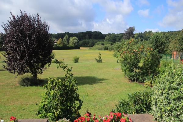 Ferienhaus Pantow Rügen Ostsee Garten