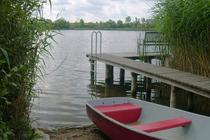Ferienhaus Wanzka Wanzkaer See Boot