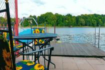 Ferienwohnung Malchow Malchower See Wassergrundstück Seeterrasse