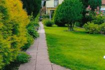 Ferienwohnung Malchow Malchower See Wassergrundstück Garten
