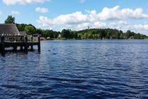 Ferienhaus Kuchelmiß Serrahner See Umgebung Krakow am See Seepromenade