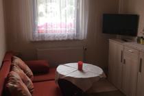 Ferienwohnung Rambin Kubitzer Bodden Wohnbereich