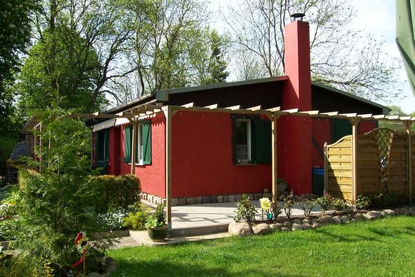 Ferienhaus Lohmen Mecklenburgische Seenplatte Hausansicht