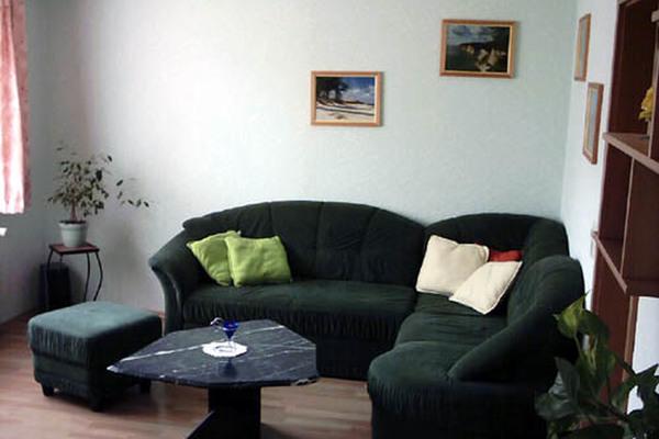 Ferienwohnung Malchow Fleesensee Wohnbereich