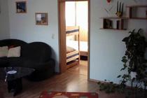 Ferienwohnung Malchow Fleesensee Wohnbereich Schlafzimmer
