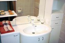 Ferienwohnung Malchow Fleesensee Badezimmer
