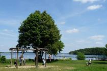 Ferienwohnung Malchow Fleesensee Badestrand