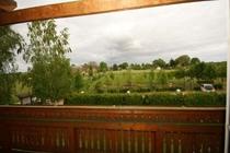 Ferienwohnung Warthe Usedom Achterwasser Balkon