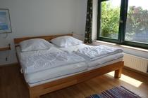Ferienhaus Klocksdorf Röggeliner See Schlafzimmer