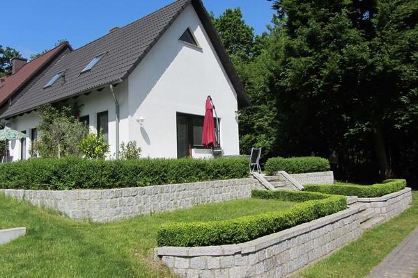 Ferienhaus Petersdorf Petersdorfer See Hausansicht